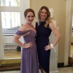 Kaitlin R. (L) Bridesmaid